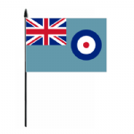 RAF Ensign Hand Flag - Medium.